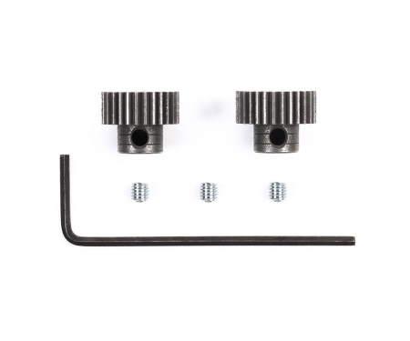 tamiya Steel Pinion Gear 0,4 28/29 T