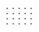 tamiya 3mm Lightweight Diff Ball Set (20)