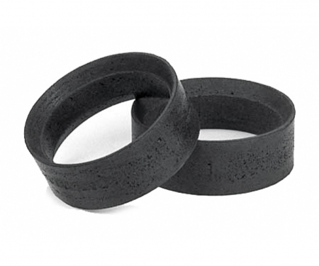 tamiya 1:10 MN/24mm Hard Inner sponge (2) Black