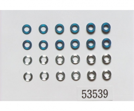 tamiya Aluminum Spacer Set 5,5mm