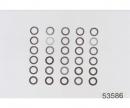 tamiya Distanzscheiben-Set 4mm (10) 0,1/0,2/0,3