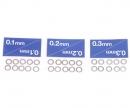 tamiya Shim Set 5mm (10) 0,1/0,2/0,3