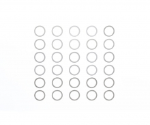 tamiya 10mm Shim Set *10 x 3 types