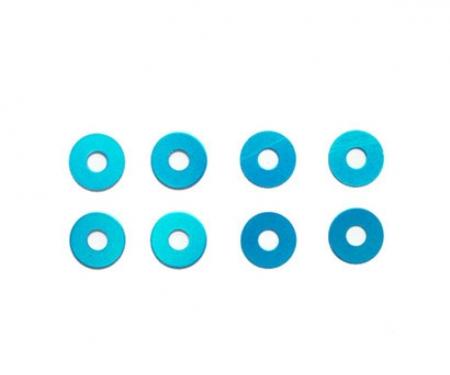 tamiya Wheel Spacer/Blue (8)