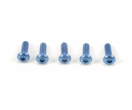 3x10mm Sockelschraube(blau)