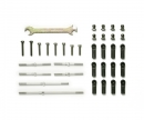 tamiya DT-02 Turnbuckle Suspen. Arm&Tie-Rod Set