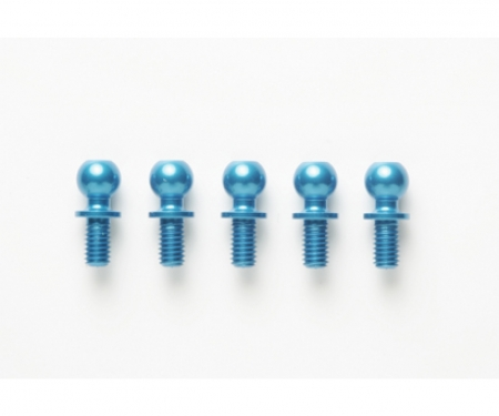 tamiya DB-01 5x5mm Al.Ball Connector(5)Bl.anod.