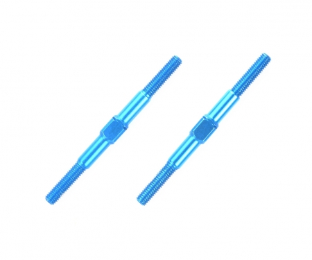 tamiya Alum. Turnbuckle Shaft 3x42mm (2) blue