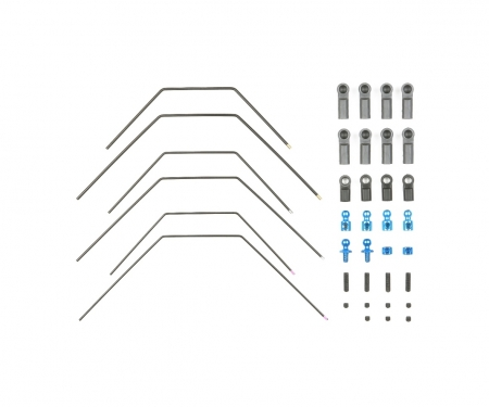 TA06 Stabilisator-Set vorne/hinten (3+3)