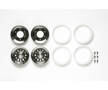 tamiya Bruiser 4x4 Wheels (2) 4-Piece