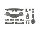 tamiya XV-01 J&JJ Parts Damper stay Carb. rein.