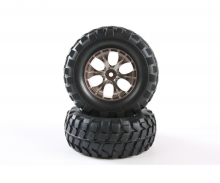 tamiya CC01/HL RB Tires+Taper 6-S Whl.