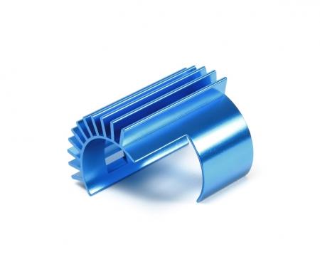 tamiya TT-02 Alum. Motor Heat Sink Blue anodiz.