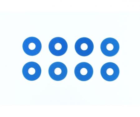 tamiya TRF Alu Distanzscheiben 0,75 mm blau (8)