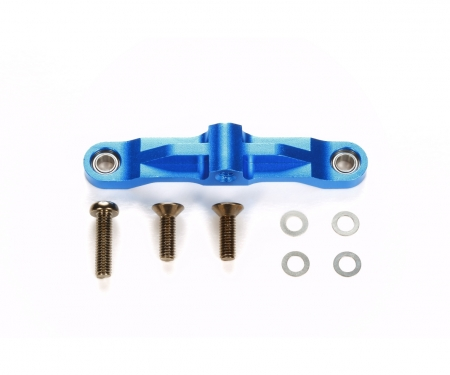 TT-02 Alum. Steering Bridge Blue anodiz.