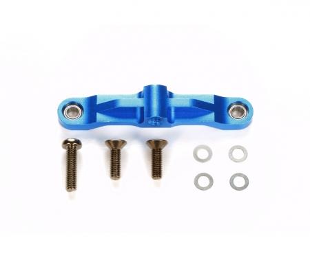 tamiya TT-02 Alum. Steering Bridge Blue anodiz.