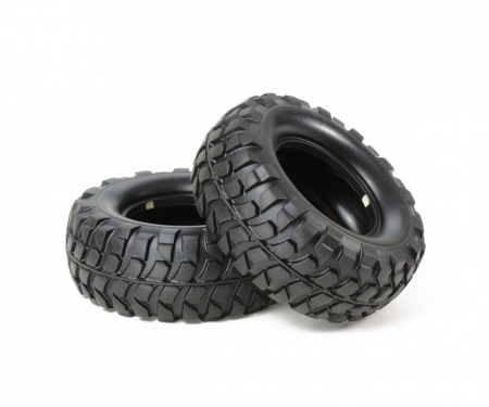 tamiya Rock Block Tire Soft *2 CC-01