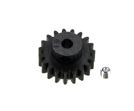 DT-03/02 M0,8 Module 19T Steel Pinion