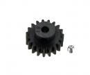 DT-03/02 19 Z Stahl Motorritzel M0,8