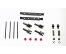 tamiya TT-02-S Steel Suuspension Mount Set F/R
