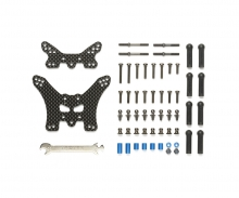 tamiya TT-02B Carbon FR Damper Stays