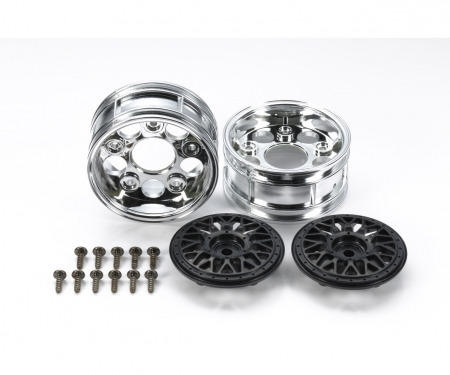 tamiya 2-Piece Mesh Wheels *2 Bla