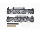 tamiya G6-01 D Parts Chassis ClrGry
