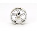 tamiya T3-01 Front Wheel (Plated)