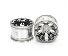 tamiya T3-01 Chrome Whl 4 WSS Tire R