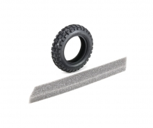 T3-01 Caramel Block Tire F