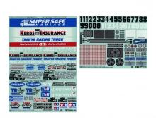 Sticker Racing Truck