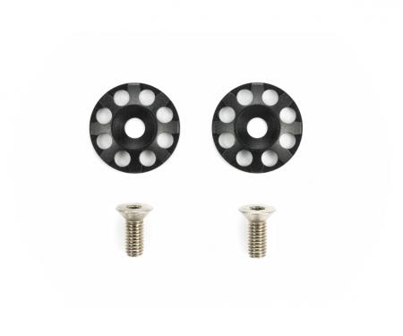 tamiya Aluminum Wing Washers (2) Black