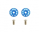 Aluminum Wing Washers Blue