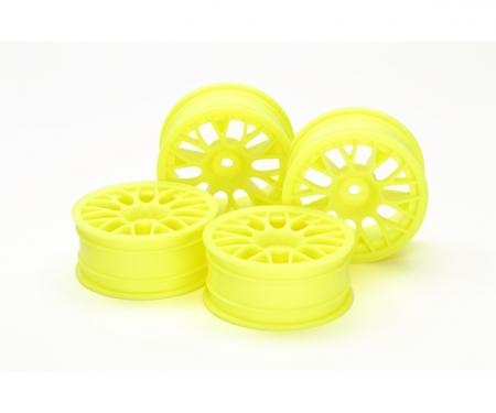 tamiya 1:10 Mesh Wheels +2 FlYel (4) 24mm