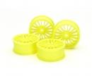tamiya 1:10 18-Spk Wheels 0 FlYel (4) 24mm