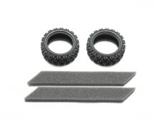 tamiya Rally Block Tire Soft *2