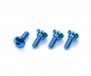 tamiya Alum. Servo Step Screws (4)