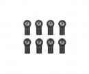 tamiya 5mm Kugelpfanne Med./11,5mm (8) offen