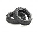 tamiya 2WD Rib-Spike F Tires (2) 60/60