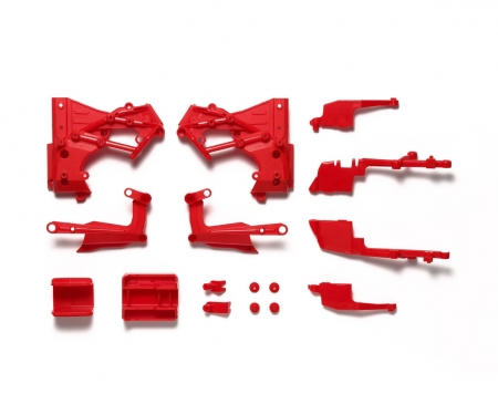 T3-01 C-Teile Chassis Rot