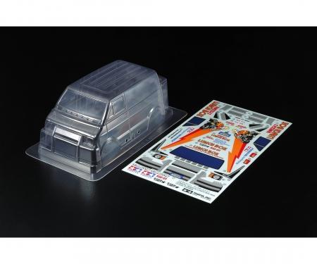 tamiya Body Set Lunch Box Mini Clear