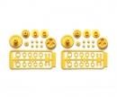 tamiya SW-01 G Parts (Gears) Yellow