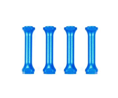 tamiya M-08 Alum. Frame Posts (4) blue