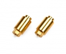 tamiya TRF420 Brass Bumper Posts (2)