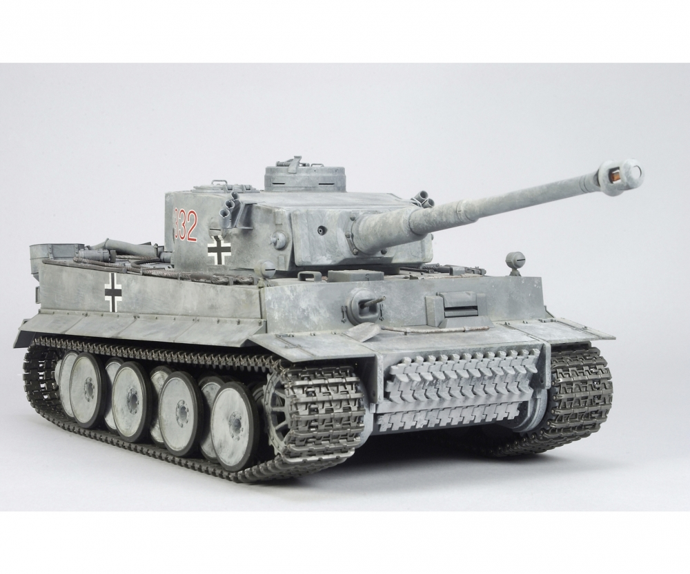1 16 rc panzer tiger 1 full option rc tanks rc modelle. Black Bedroom Furniture Sets. Home Design Ideas