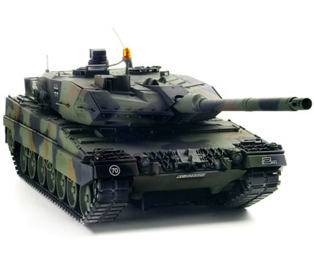 1 16 rc panzer leopard 2a6 full option rc tanks rc. Black Bedroom Furniture Sets. Home Design Ideas
