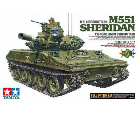 tamiya 1:16 RC US M551 Sheridan Kit Full Option