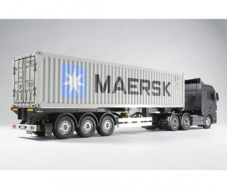 tamiya 1:14 RC 40ft.Container Semi-Trail.Maersk