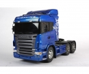 tamiya 1:14 RC Scania R620 6x4 High.blue paint.