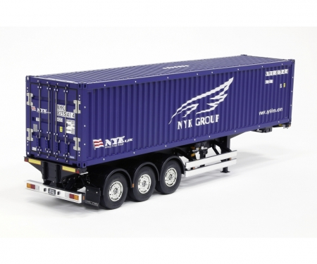 tamiya 1:14 RC 40ft NYK  Container Semi-Trailer